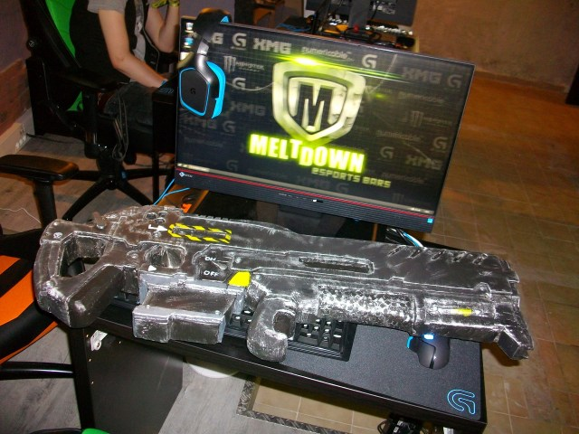 C-14 Impaler Gauss Rifle Raynor for Meltdown Aix en Provence