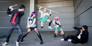 Saya Takagi Highschool of the dead cosplay by SxyBlood Cosplay