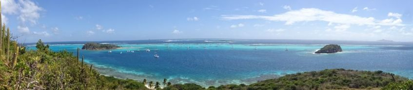 Panorama Horseshoe Reef