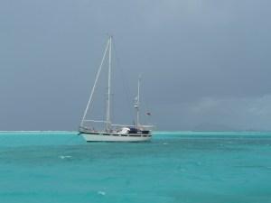 AKKA  in den Tobago Cays