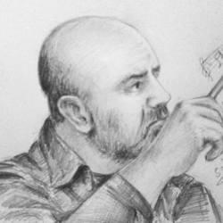طاهر مامللي رسم سحر الغربي
