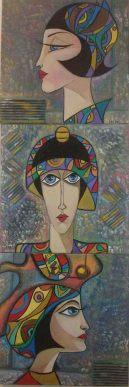 الفنانة سلام الأحمد