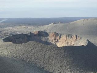 Krater im Nationalpark Timanfaya