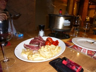 Chateaubriand auf dem Holzkohlegrill