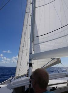 Auf dem Weg nach St. Lucia