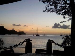 Sonnenuntergang vom Plantation Hotel