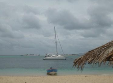 ME am Paradise Beach (im Hintergrund Sandy Island)