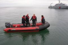 Zollboot vor La Rochelle
