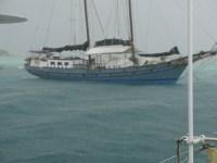 Schittwetter in Clifton/Union Island