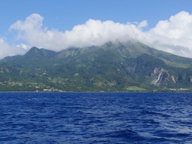 Vulkan Mount Peleé