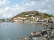 Marigot Bay mit Fort