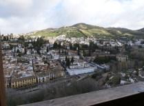 Blick nach Albaicín