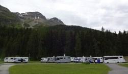 Campingplatz bei der Sprungschanze/St. Moritz