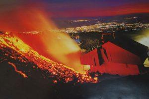 Der Ausbruch 2001 zerstörte die Talstation