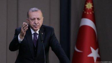صورة أردوغان يدعو العالم لمواجهه الانقلابي حفتر