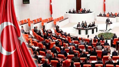 صورة البرلمان التركي:ذكرى المئوية لتأسيس المجلس كما هو مخطط لها