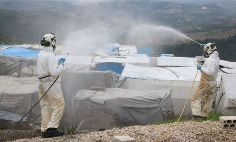 الخوذ البيضاء خط الدفاع ضد كورونا شمالي سوريا