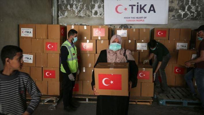 """مساعدات لمواجهة - """"تيكا"""" تُسلم """"الصحة"""" الفلسطينية مساعدات لمواجهة """"كورونا"""""""