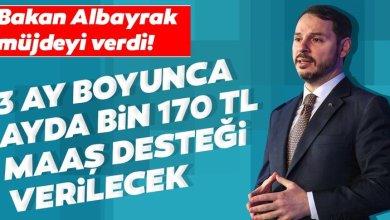 صورة وزير المالية نبأ السار! سيتم توفير دعم شهري بقيمة 1170 ليرة تركية لمدة 3 أشهر