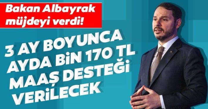 وزير المالية نبأ السار! سيتم توفير دعم شهري بقيمة 1170 ليرة تركية لمدة 3 أشهر