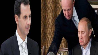 """صورة طباخ بوتين ينتقـد """"بشار الأسد"""" ويتنبئ لأمر يتعلق بمصيره!"""