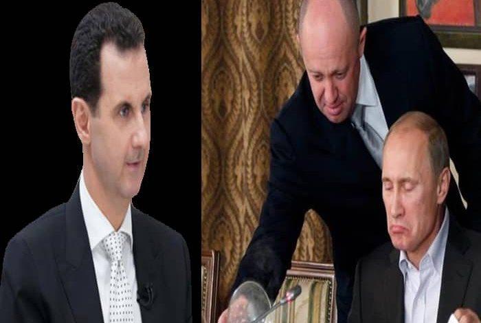 """بوتين ينتقد الاسد - طباخ بوتين ينتقـد """"بشار الأسد"""" ويتنبئ لأمر يتعلق بمصيره!"""