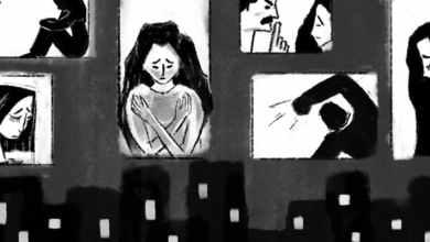 """صورة """"كورونا"""" يفاقم العنف الأسري بحق لاجئات سوريات في الأردن."""