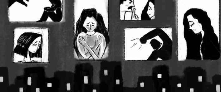 العنف الأسري بحق لاجئات سوريات