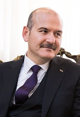 Süleyman Soylu in Tehran 01 - تصريح من وزير الداخلية التركي حول الجدل بشأن السورين في تركيا وعلاقه بفيروس كورونا
