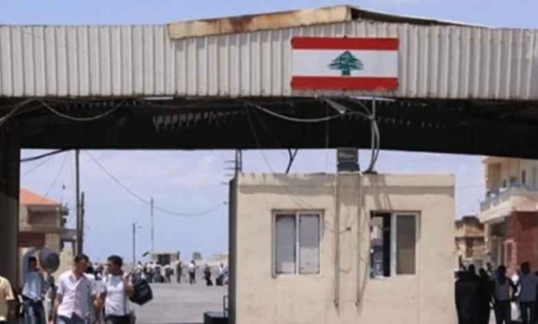 الحدود اللبنانية السورية