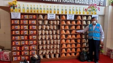 صورة ولاية تركية…تحول المسجد إلى سوق خيري للمحتاجين
