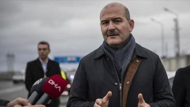 صورة وزير الداخلية : تركيا تشهد انخفاضاً في عدد الإرهـ.ــ.ـابيين داخل البلاد