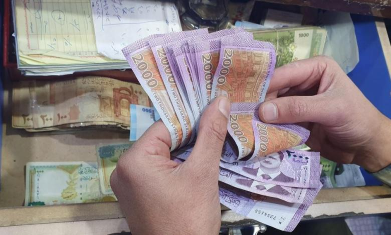 السورية 1 - سعر صرف الدولار مقابل الليرة السورية اليوم الخميس 21-5-2020