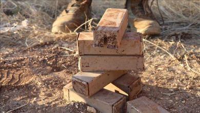 صورة أعلنت وزارة الدفاع التركية، تدمير 118 لغما مضادا للأفراد