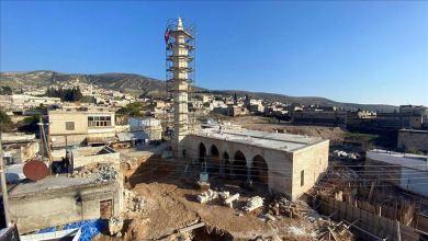 """صورة تركيا ترمم مقام """"النبي هوري"""" ومسجد في عفرين السورية"""