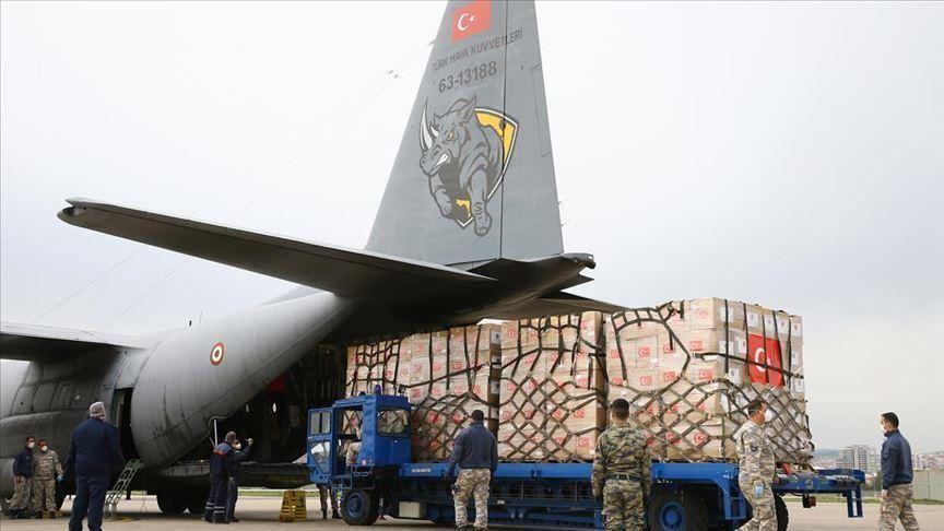 تركيا تقدم مساعدات طبية لكازاخستانفي إطار