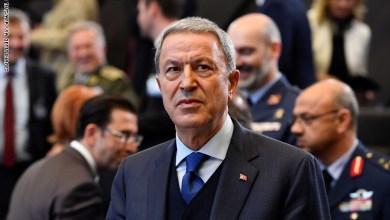 صورة وزير الدفاع التركي خلوصي أكار: مصممون على حماية مصالح تركيا