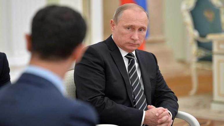 بشار بوتين