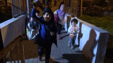 صورة بعد هرب امهم الى المانيا:تولّت السلطات التركية أمر 4 أطفال سوريين