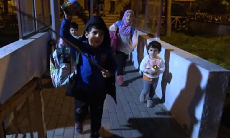 1c0ce35941574390b1288ca124bf60e5 - بعد هرب امهم الى المانيا:تولّت السلطات التركية أمر 4 أطفال سوريين