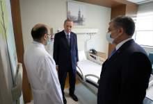 "Photo of الرئيس التركي رجب طيب اردوغان يقوم بجولة تفقدية في مدينة ""ساكورا"" الطبية"