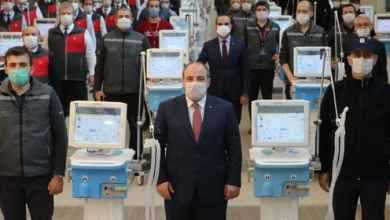 صورة بعد النجاح في تصنيعه تركيا تسمح بتصدير أجهزة التنفس الاصطناعي