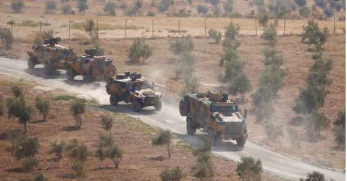 التركي - تحركات عسكرية جديدة للجيش التركي في ادلب .