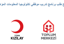 Photo of هام .. برنامج تدريب وفرص عمل من الهلال الأحمر التركي لهذه الفئة من السوريين .