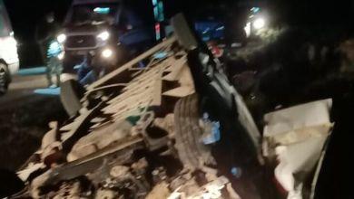 صورة قتـيل وأكثر من 40 جريـح جراء انقـلاب شاحنة تقل اللاجئين في ولاية فان