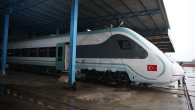 صورة تركيا..تطلق أول قطار كهربائي محلي الصنع..(صورة)