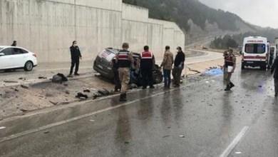 صورة حادث سير مروع شمالي تركيا يسفر عن قتلى وجرحى