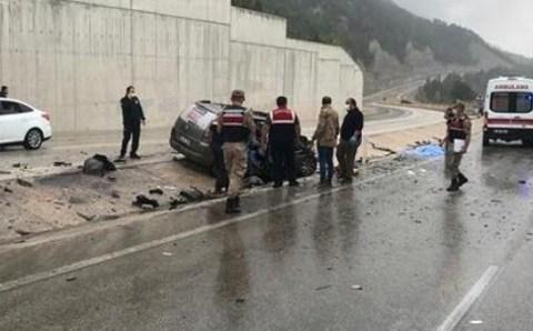 حادث سير مروع شمالي تركيا يسفر عن قتلى وجرحى