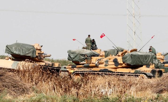 تنفي إرسال تركيا تعزيزات إلى الحدود مع اليونان  - إصابة جنديين تركيين برصاص مجهولين جنوب إدلب – الجسر ترك تركيا الحدث