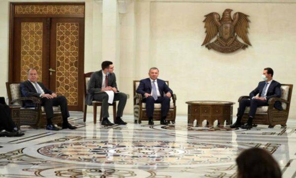 سيرغي-لافروف-في-دمشق-وكالات